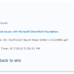 """File not found""-error when trying to activate custom feature on SharePoint"