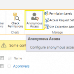 Disabling anonymous access on a single site through PowerShell