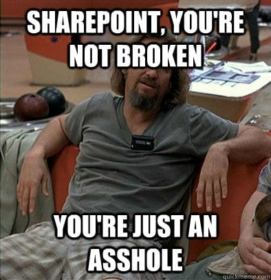 SharePoint_aint_broken
