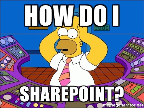 How to SharePoint?