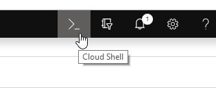 Azure Cloud Shell toggle in Azure Portal