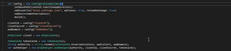 Azure Functions SDK 2.0 settings in accessed in C# code