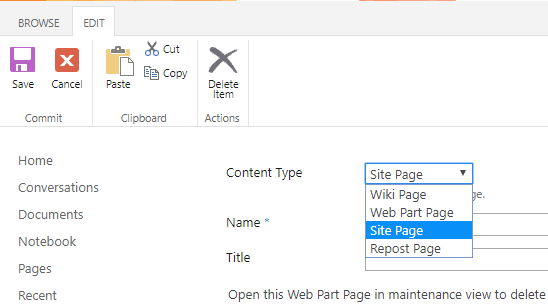 You can change the Content Type of a list item when on the Edit Form.