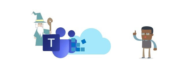 Epic Visio Skills produced this cool illustration of Microsoft Teams extensibility!