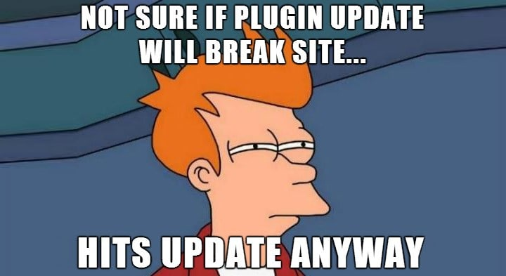 WordPress updates...
