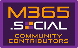 M365.Social Community Contributors badge