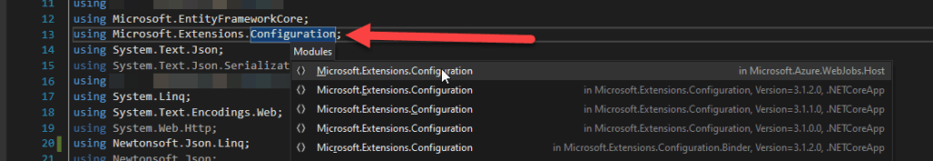 How to access Azure Function App's settings from C#?