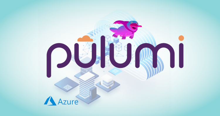 Pulumi Azure Next-gen logo/splash